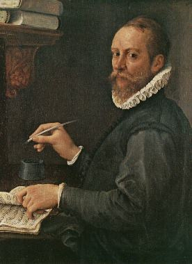Annibale Carracci. Portrait Of Claudio Merulo