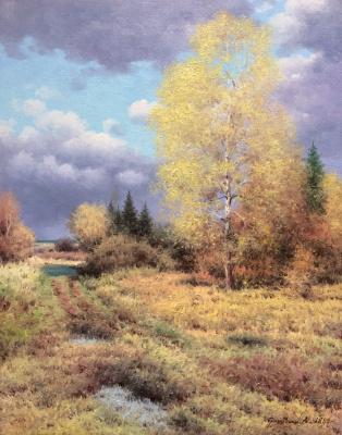 Vasily Ivanovich Gribennikov. Autumn time