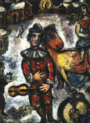 Marc Chagall. The circus is in town