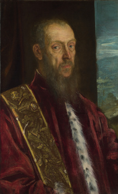 Jacopo (Robusti) Tintoretto. Portrait of Vincenzo Morosini