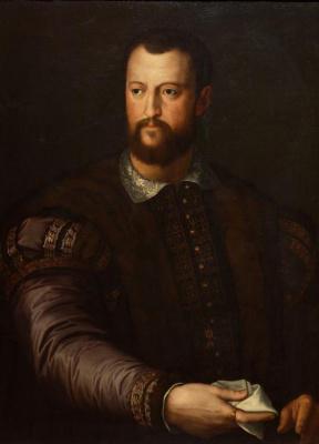 Agnolo Bronzino. Portrait of Cosimo Medici, Grand Duke of Tuscany