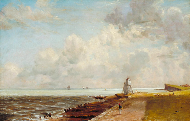 John Constable. Lighthouse Harwich
