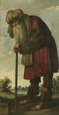 """Francisco de Zurbaran. James, from the series """"Jacob and his twelve sons"""""""