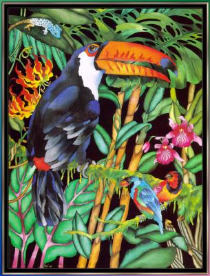 Джуди Вайс. Джуди Вайс. Тропический лес для детей 01