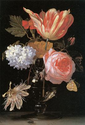 Хендрик Де Фромантиоу. Цветочный натюрморт