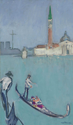 Kees Van Dongen. Venice. Around 1920