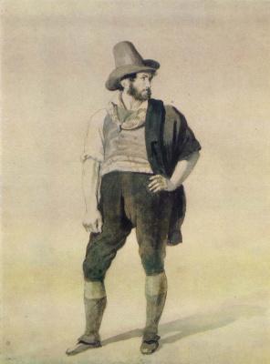 Orest Adamovich Kiprensky. Young italian