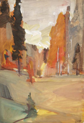 George Grigorievich Nyssa. Autumn motive