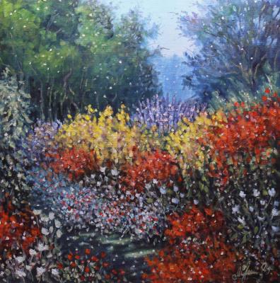 Valery Levchenko. No. 334 Flower Garden