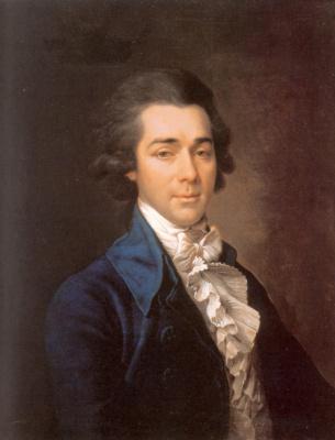 Dmitry Grigorievich Levitsky. Portrait Of Nikolai Alexandrovich Lvov