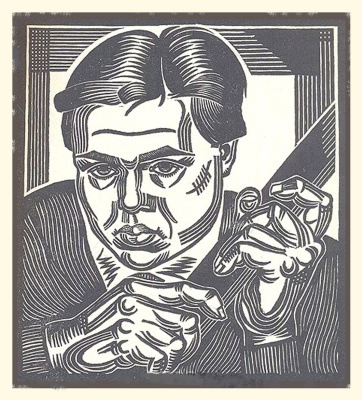 Artist Nikolai Borushko