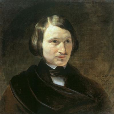 Fedor Antonovich Moller. Portrait Of Nikolai Gogol