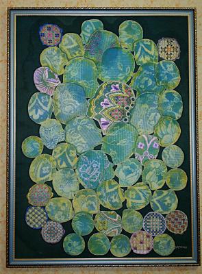 Violetta Valerievna Mitina. Lace maker