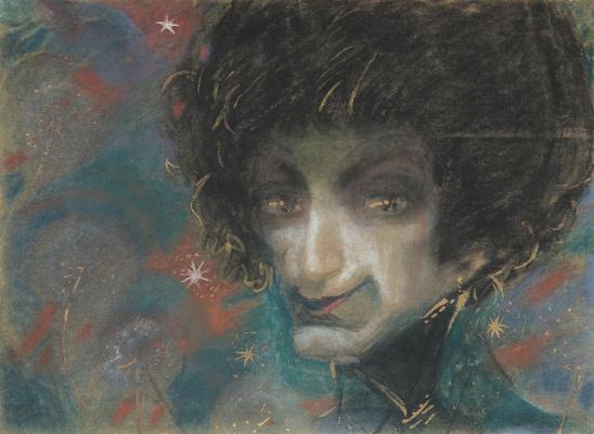 Седрак Аракелович Аракелян. Женский портрет с одуванчиками