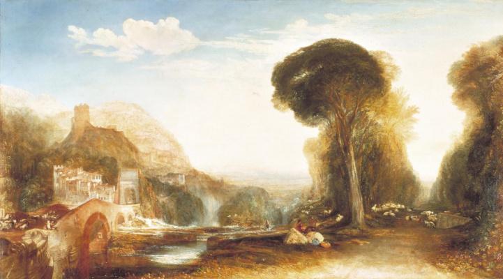 Joseph Mallord William Turner. Palestrina. Composition