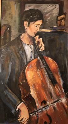 """Valeria. """"Cellist"""""""