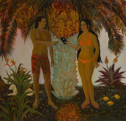 "Valeria Konstantinovna Isyak. ""Adam / Eve"""