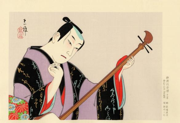 Тадамаса. Японская живопись. Тадамаса9