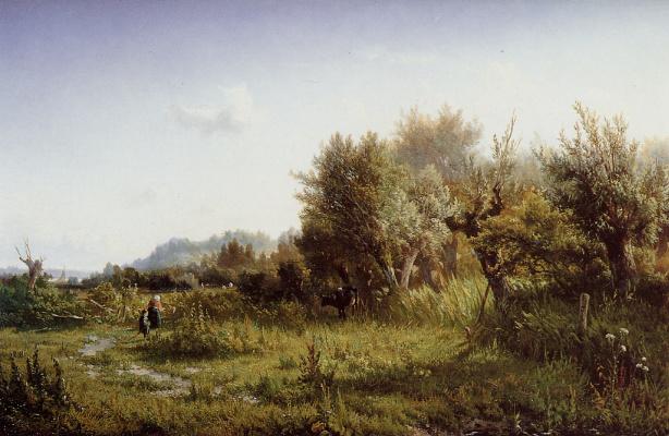 Ван Крусеман. Летний пейзаж