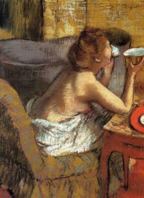 Эдгар Дега. Завтрак