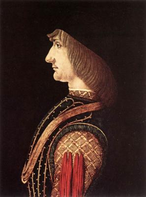 Giovanni Ambrogio de Predis. Portrait of a man