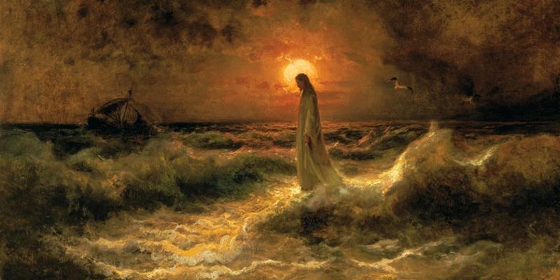 Julius Klever. Walking on water