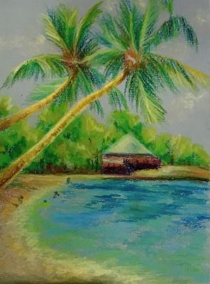 Лариса Луканева. Вьетнам. Пальмы.