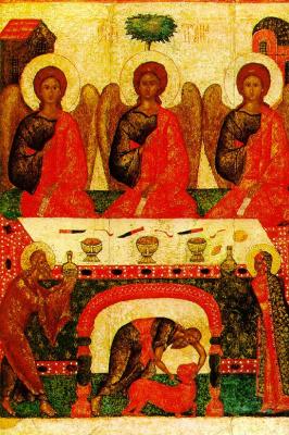 Icon Painting. Trinity