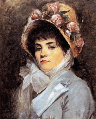 Мария Константиновна Башкирцева. Жоржет