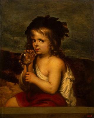 Алонсо Мигель де Тобар. Мальчик, пускающий мыльные пузыри