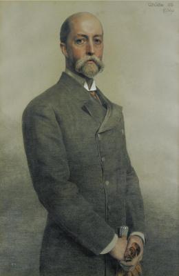 Anthony Frederick Augustus Sandys. Portrait Of William Gillian