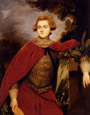 Joshua Reynolds. Portrait of Lord Robert Spencer