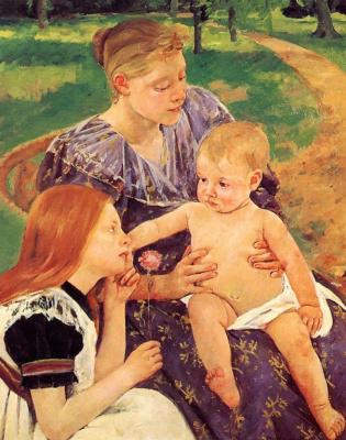 Mary Cassatt. Family