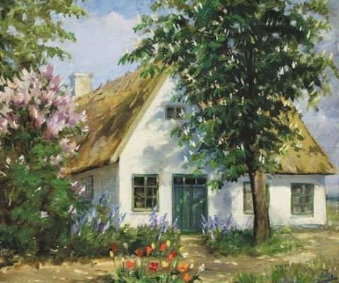 Ольга Александровна Романова. Домик в саду