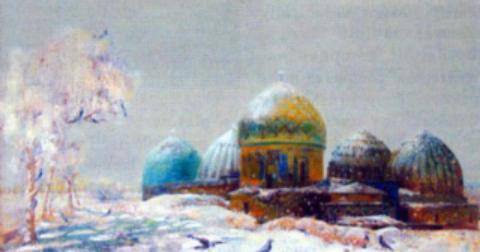 Бахтиер Мирходиевич Махкамов. Шахи зинда