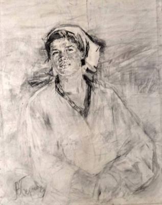 Геннадий Валентинович Бернадский. Женский портрет