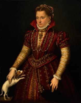 Лавиния Фонтана. Портрет дворянки