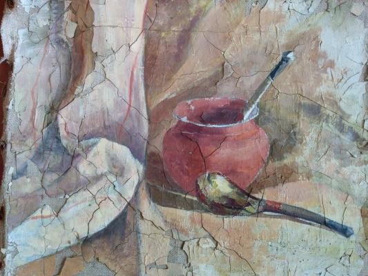 Dmitry Arkadevich Laptev. Pots and spoons