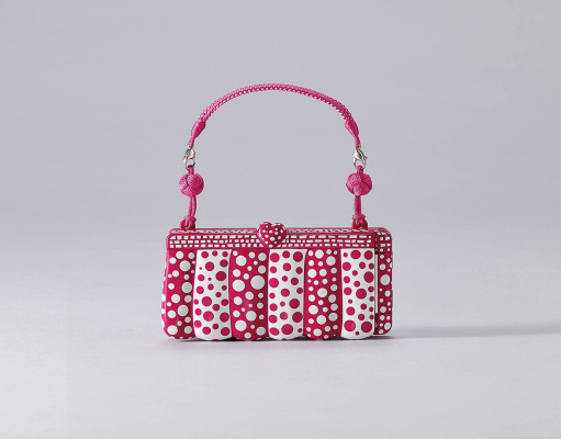 Kusama Yaei. Cosmic travel handbag