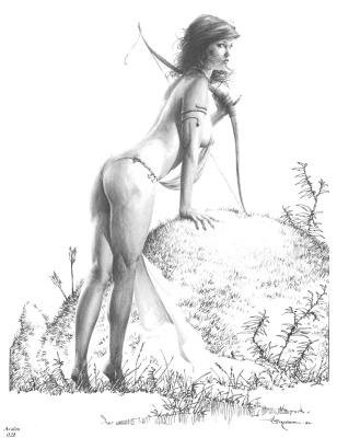 Джерри Бингам. Авалон028 - Злобные девы3