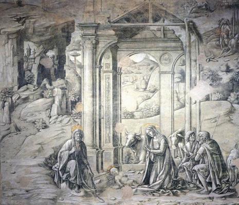 Франческо ди Джорджио Мартини. Рождество Христа