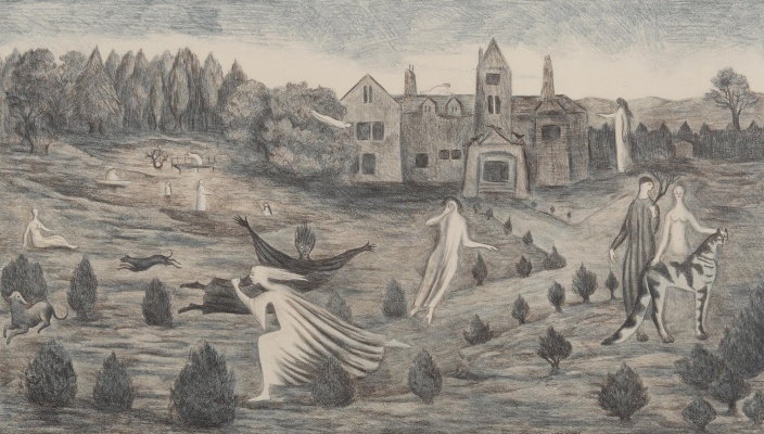 Leonora Carrington. Crockery Hall