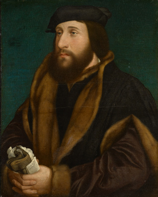 Hans Holbein The Younger. Portrait of an Englishman