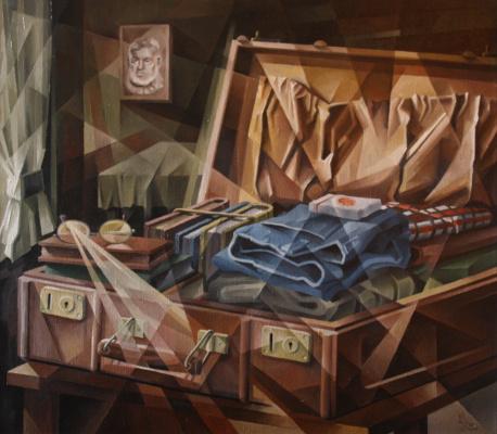 Vasily Krotkov. Forever. Kubofuturizm