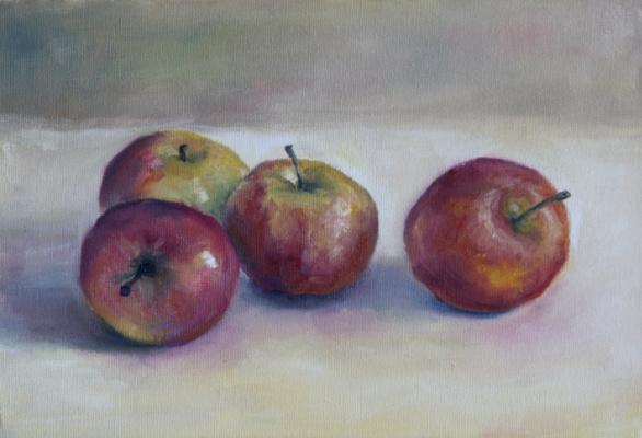 Pavel Cherkashin. Красные яблоки