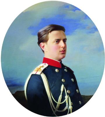 Sergey Konstantinovich Zaryanka. Portrait of Grand Duke Vladimir Alexandrovich (1847-1909)