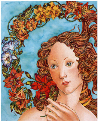 Анна Феиза. Красавица