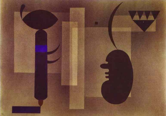 Wassily Kandinsky. A grim situation