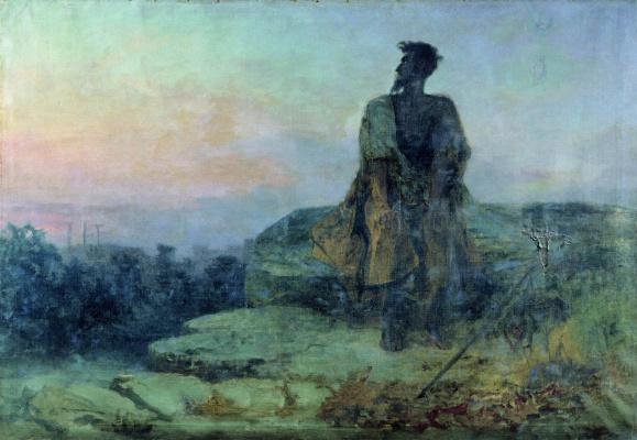 Fedor Andreevich Bronnikov. Judas. 1874 Sketch