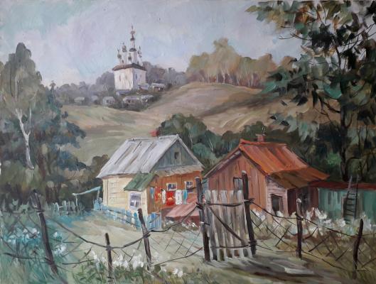 Lyudmila Lvovna Khlebnikova. Summer in Reach